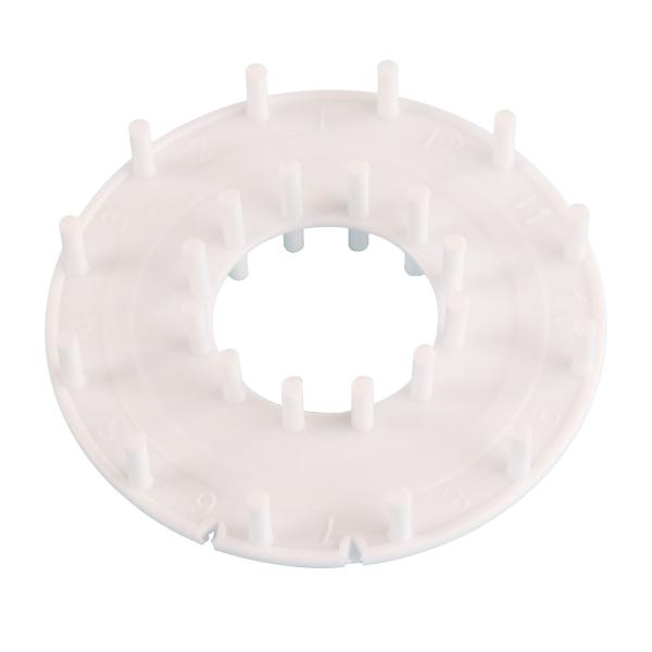 Crochetmanía Rosa coral